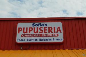 The brand new restaurant on The Pike, Sofia's Pupuseria, where I had my first baleada.